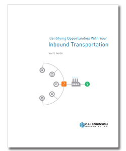 <p>Many of the processes that have resulted in more efficient outbound networks work for inbound, too. So no matter how large or small your company may be, you can develop a program that not only saves you money, but also improves service, minimize delays, reduces confusion, and raises performance.</p>