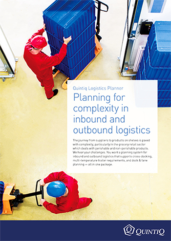 Planning warehouse and transportation in isolation increases